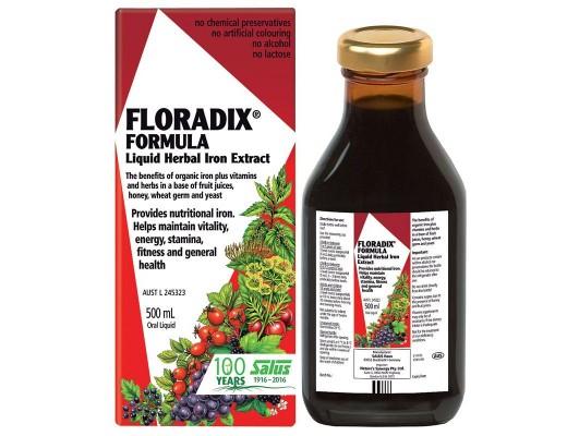 Salus Floradix Formula jurtajárn 500 ml.