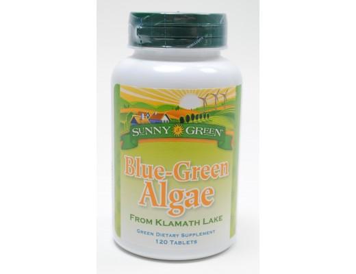 Sunny Green Blue Green Algae 500mg, 120 hylki