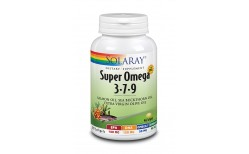 Solaray Super Omega 3-7-9, 100 vegan hylki