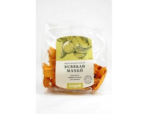 Sólgæti lífrænt Mangó 125 gr.