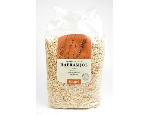 Sólgæti lífrænt Haframjöl 1 kg.