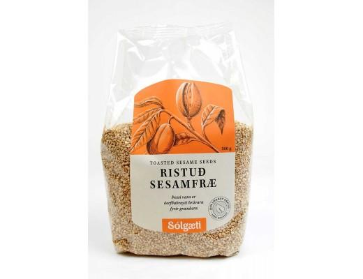 Sólgæti lífræn Sesamristuð fræ 500 gr.