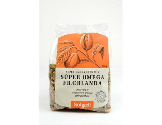 Sólgæti lífræn Súper Omega fræ 250 gr.