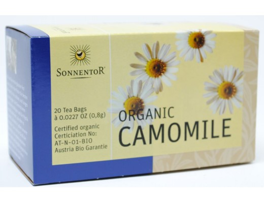 Sonnentor Camomile Tegrisjur 20 stk.