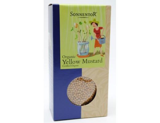 Sonnentor sinnepsfræ gul 120 gr.