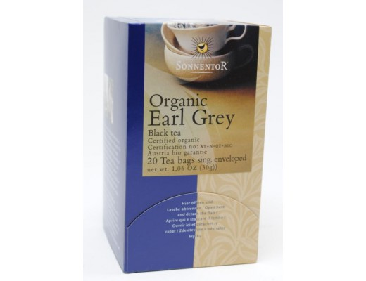 Sonnentor Earl Grey Black Tea 20 gr.