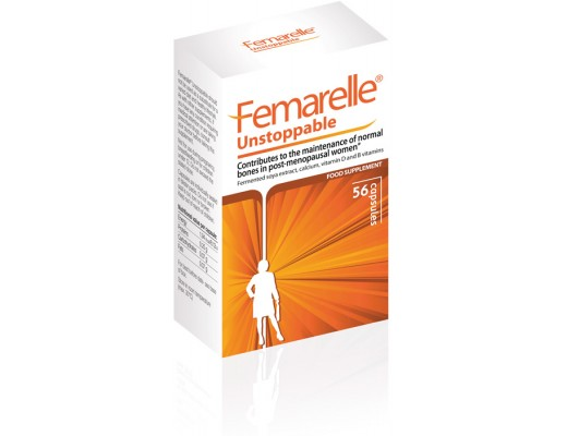 Femarelle Unstoppable 60+,  56 hylki