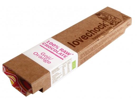 Lovechock Gojiber & appelsínur lífrænt 40g