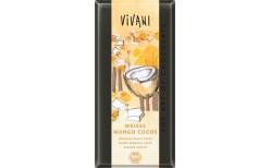 Vivani hvítt súkkulaði með mangó og kókos 100 gr.
