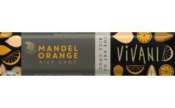 Vivani Almond Orange bar 35 gr.