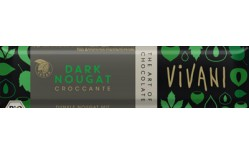 Vivani Dark Nougat bar 40 gr.