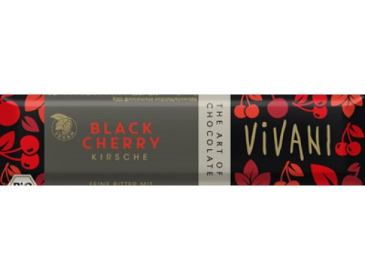 Vivani Black Cherry bar 35 gr.