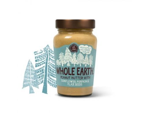 Whole Earth hnetusmjör fræblanda 340 gr.