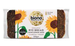 Biona Organic brauð með sólblómafræjum 500 gr.
