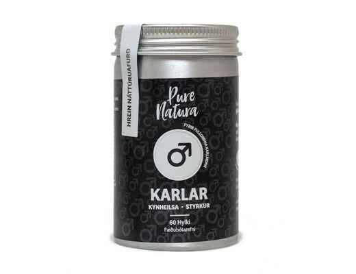 Pure Natura Karlar 60 hylki