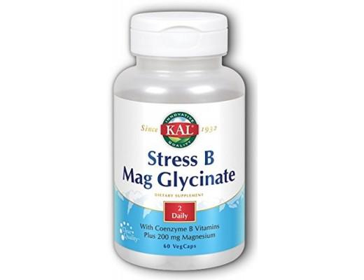 Solaray Kal stress B Mag Glycinate 60  hylki