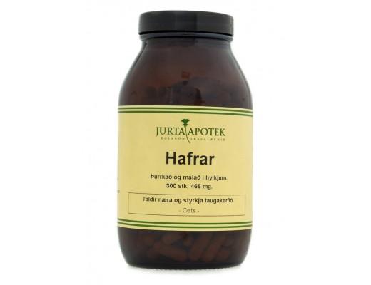 Jurtaapótekið Hafrar 300 hylki