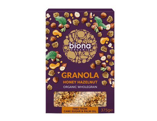 Biona Heslihnetu Granóla 375 ml.