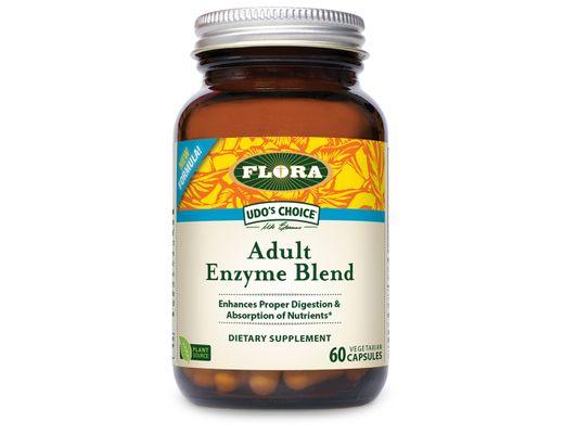 Udo's Adult Enzyme Blend 60 hylki