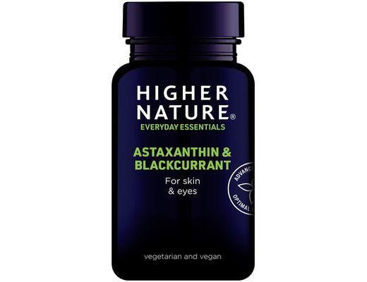 Higher Nature Astaxanthin & Blackcurrant 30 hylki