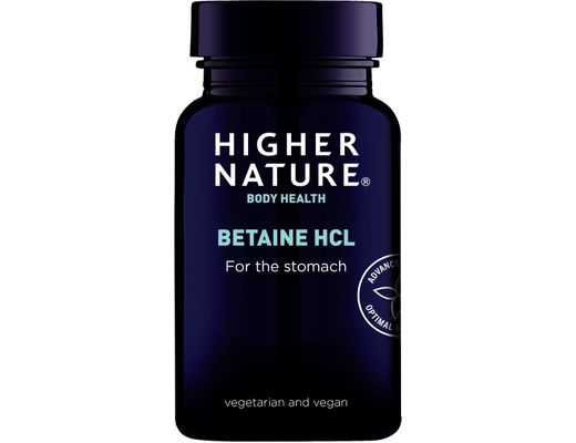 Higher Nature Betaine HCL 90 hylki