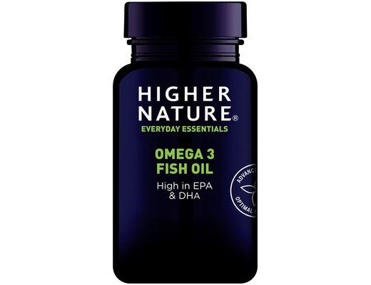 Higher Nature Omega 3 fish oil 1000mg 90 hylki