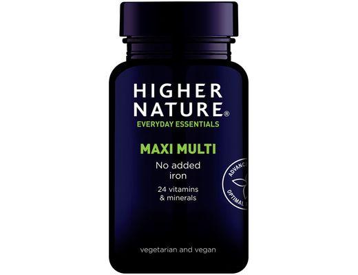Higher Nature Maxi Multi án járns 90 hylki