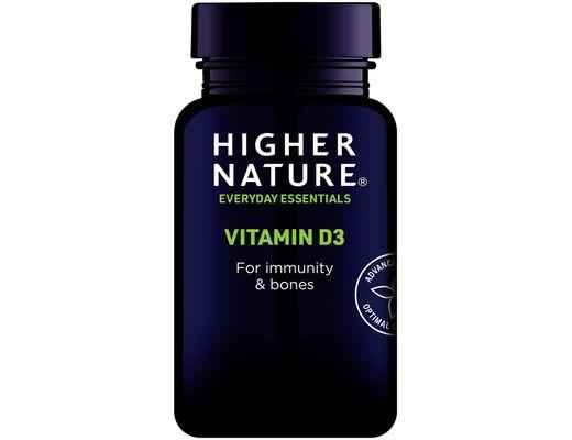Higher Nature D3-vítamín 500iu 60 töflur