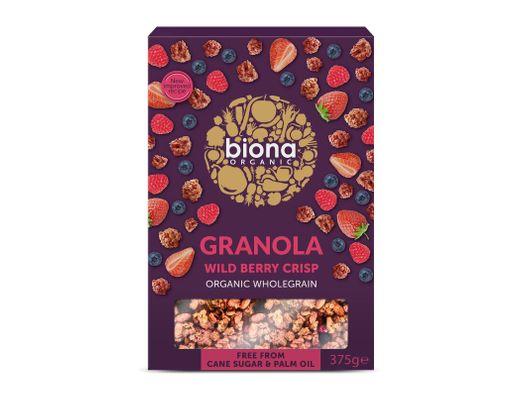 Biona Wild Berry Granola 375 gr.