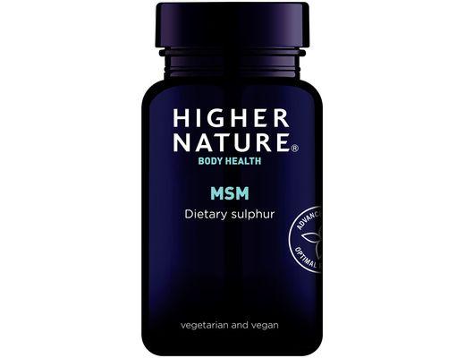 Higher Nature MSM 1000mg 90 töflur