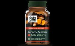 Gaia Herbs Turmeric Supreme Extra strenght 60 hylki