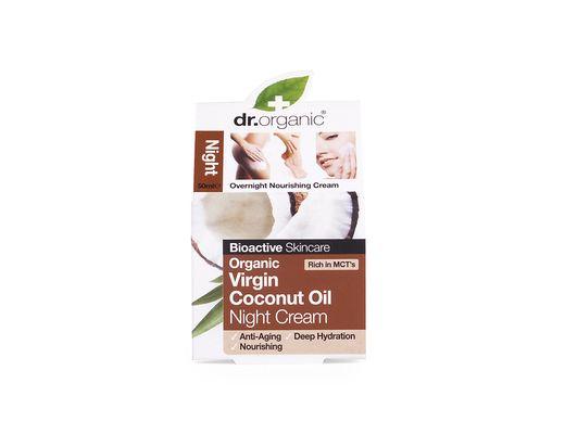 Dr. Organic Virgin Coconut Oil Night Cream 50 ml.