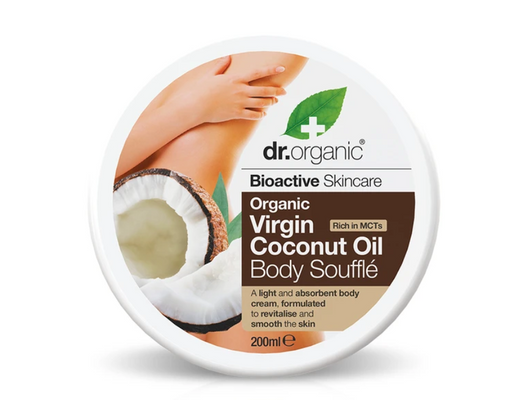 Dr. Organic Virgin Coconut Oil Body Soufflé 200 ml.