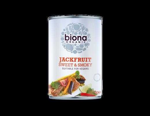 Biona Jackfruit Sweet & Smoky 400 gr.