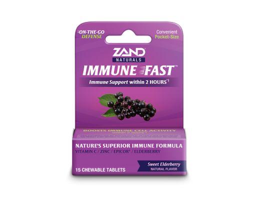 Zand Immune Fast tuggutöflur 15 stk. #elderberry