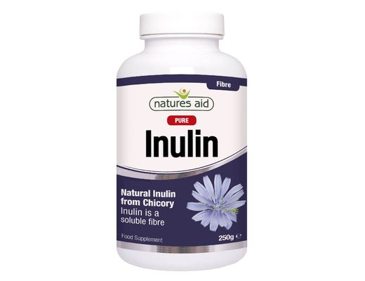 Natures Aid Inulin trefjar duft 250 gr.