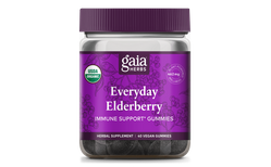 Gaia Herbs Everyday Elderberry 40 víngúmmí