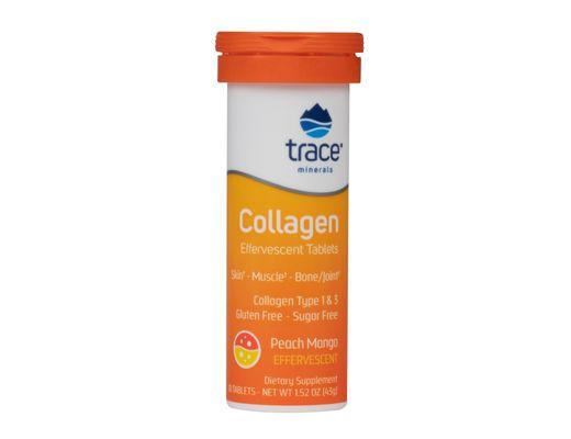 Trace Minerals Collagen freyðitöflur 10 stk.