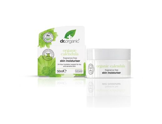 Dr. Organic Calendula andlitskrem 50 ml.