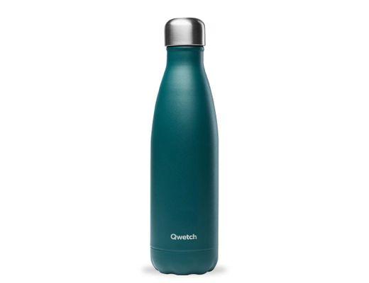 Qwetch drykkjarflaska 500 ml. heitt/kalt #Emerald græn hömruð