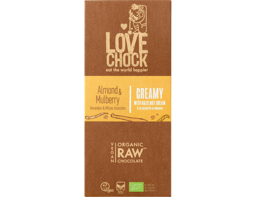 Lovechock CREAMY ALMOND & MULBERRY