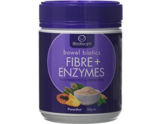 Lifestream Bowel Biotics Fibre+ Enzymes 200 gr.