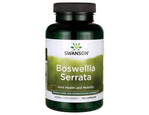 Swanson Superitor Herbs Boswellia Serrata 200mg 120 hylki