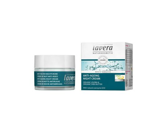 Lavera Basis Q10 Næturkrem Anti Ageing 50 ml.