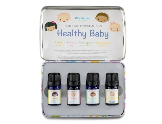 Spa Healthy Baby ilmkjarnaolíusett (4x5 ml.)