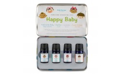 Spa Happy Baby ilmkjarnaolíusett (4x5 ml.)