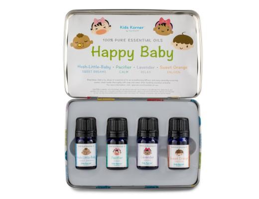 Spa Happy Baby ilmkjarnaolíusett (4x5 ml.)