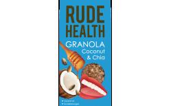 Rude Health Coconut & Chia Granola 450 gr.