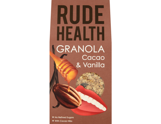Rude Health Cacao & vanilla granola 450 gr.