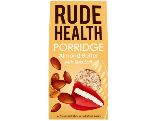 Rude Health Almond Butter hafragrautur 300 gr.